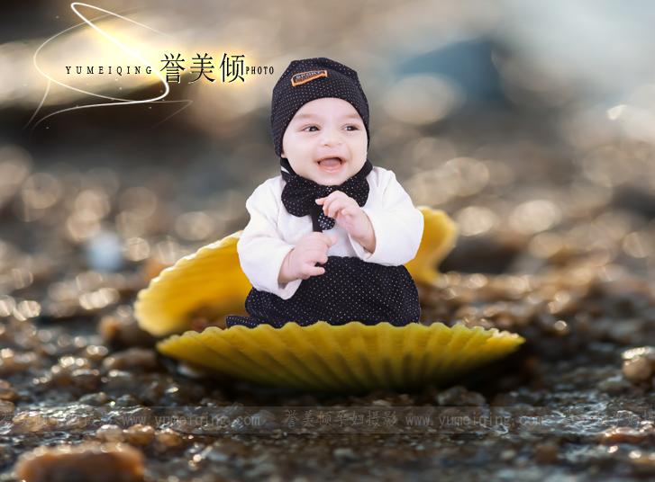 3d宝宝照,创意百天照片